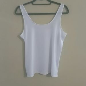 Chico's The Ultimate White Tee Tank